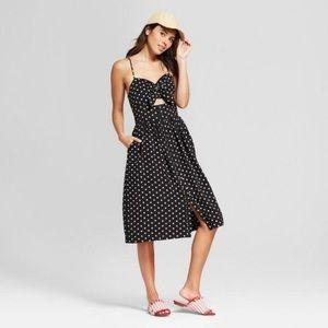 Target Polka Dot Cut Out Dress